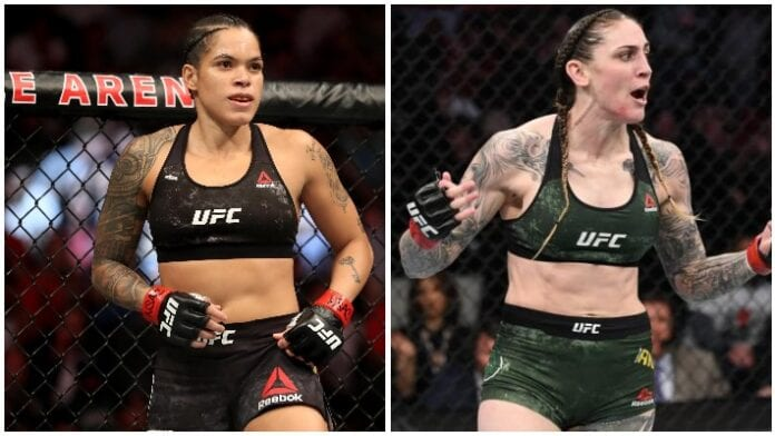 Megan Anderson vs  Amandy Nunes na UFC 256.