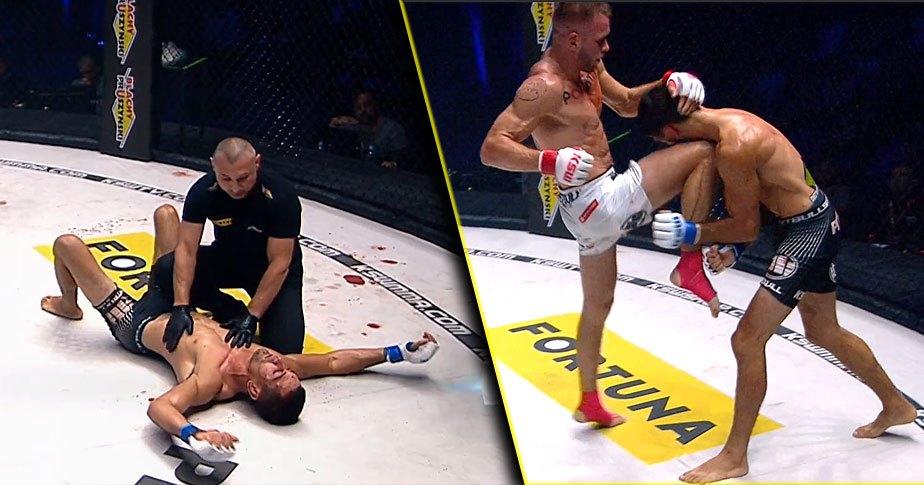 Maciej Kazieczko zwyciężył przez TKO w trzeciej rundzie na gali KSW 54!