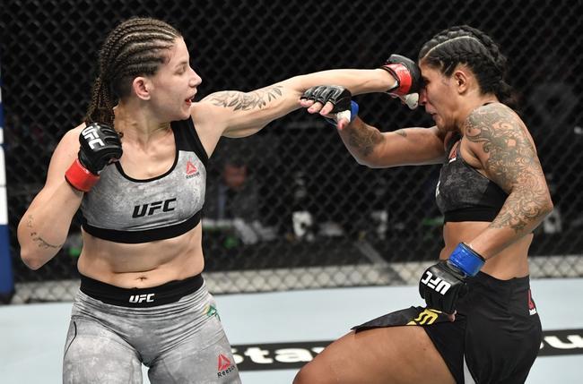 Sijarą Eubanks vs Karol Rosa na UFC Fight Night w sobotę została odwołana!