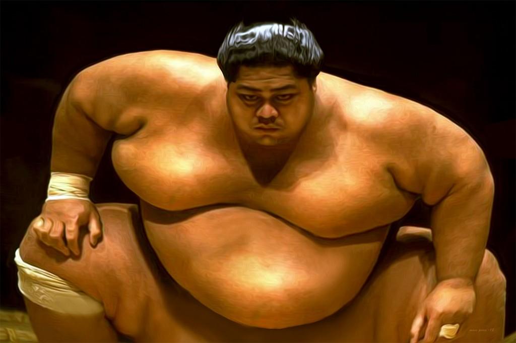 Zawodnicy sumo – nazywani Rikishi