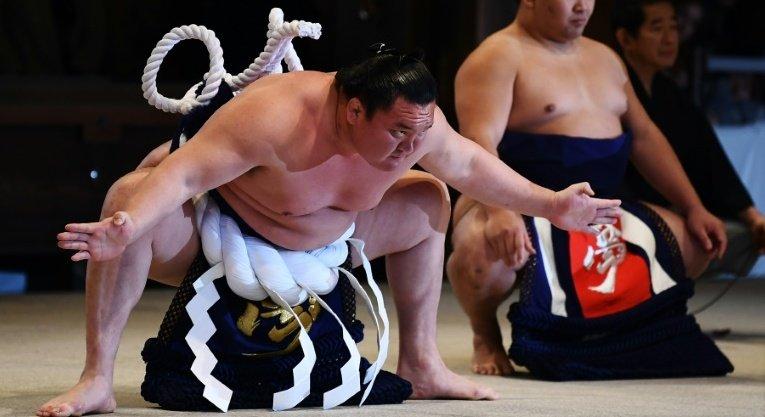 Walka sumo !!!