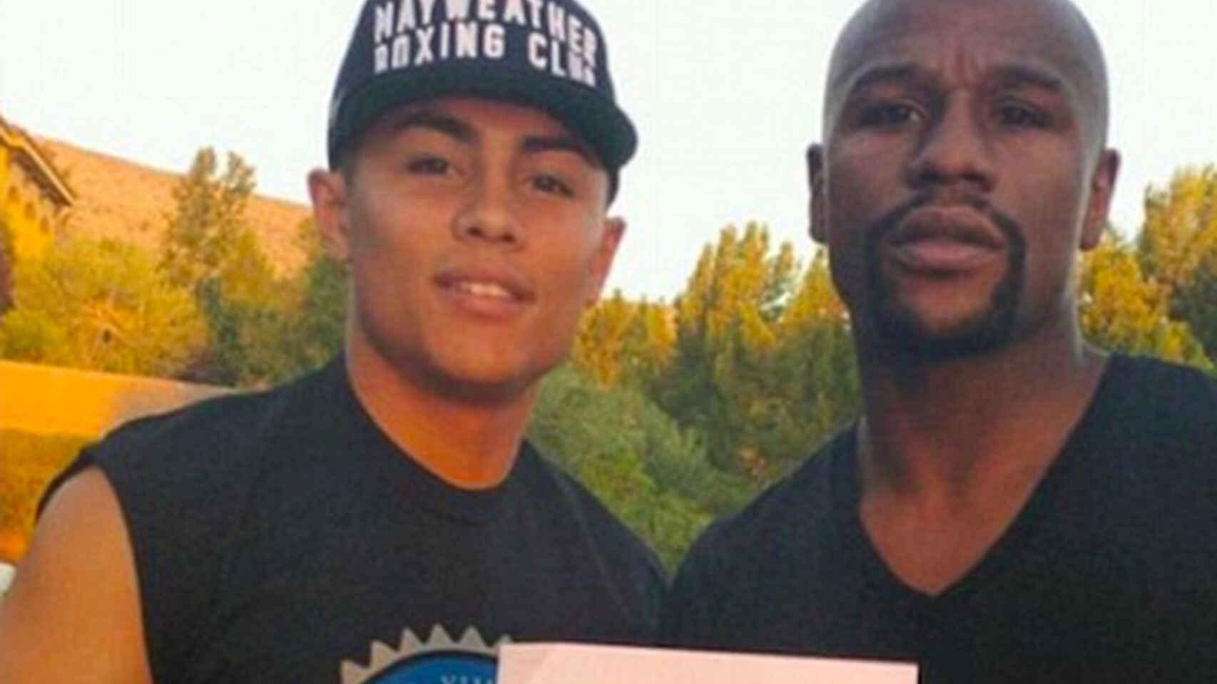 """Danny Gonzalez który zginął 9 września był nazwany przez samego Floyda Mayweathera Jr. """"cudownym dzieckiem boksu"""""""