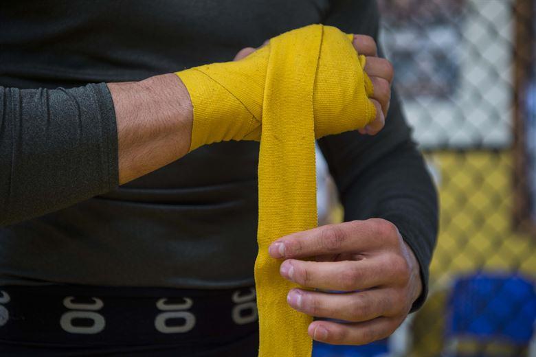 Opaski elastyczne stabilizujące w boksie