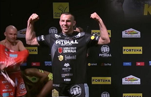 Na gali KSW 57. Tomasz Drwal (22-5-1, 14 KO, 5 Sub) 19 grudnia stanie naprzeciw Patrika Kincla (22-9, 10 KO, 6 Sub).