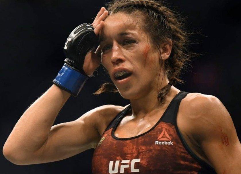 Joanna Jędrzejczyk nie zamierza ustępować w kwestii walki o mistrzowski pas UFC w wadze słomkowej.