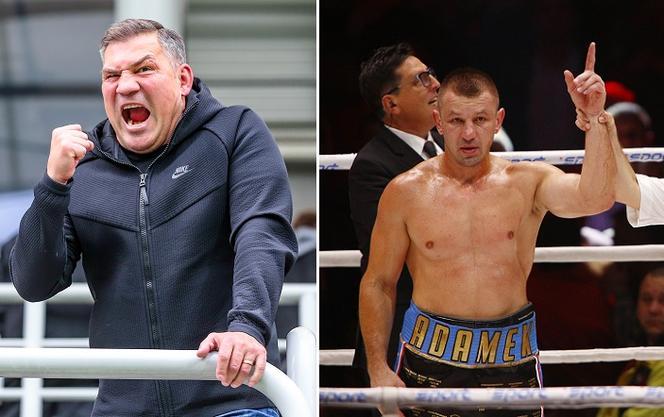 Tomasz Adamek i Dariusz Michalczewski zmierzą się w ringu?