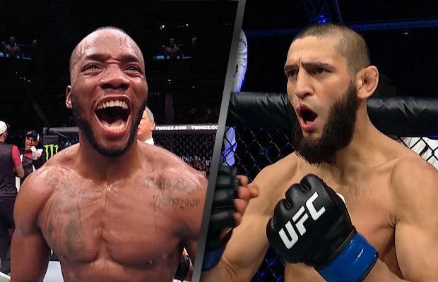 Pojedynek Leona Edwardsa z Chamzatem Czimajewem, który miał być walką wieczoru UFC Vegas 17.