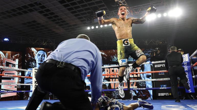Oscar Valdez (29-0, 23 KO) ciężko znokautował Miguela Berchelta (37-2, 33 KO)
