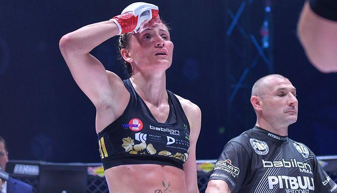Jekatierina Szakalowa (5-1) pokonała jednogłośną decyzją sędziów Izabelę Badurek (8-7) na gali FEN 33: