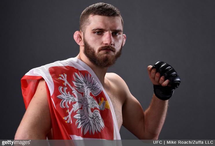 Michał Oleksiejczuk po ponad rocznej przerwie powraca do oktagonu UFC.