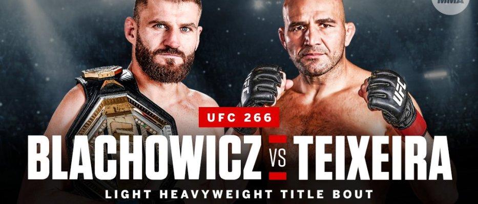 Jan Błachowicz (28-8) wie już, kiedy i przeciwko komu będzie bronił tytułu mistrza wagi półciężkiej UFC