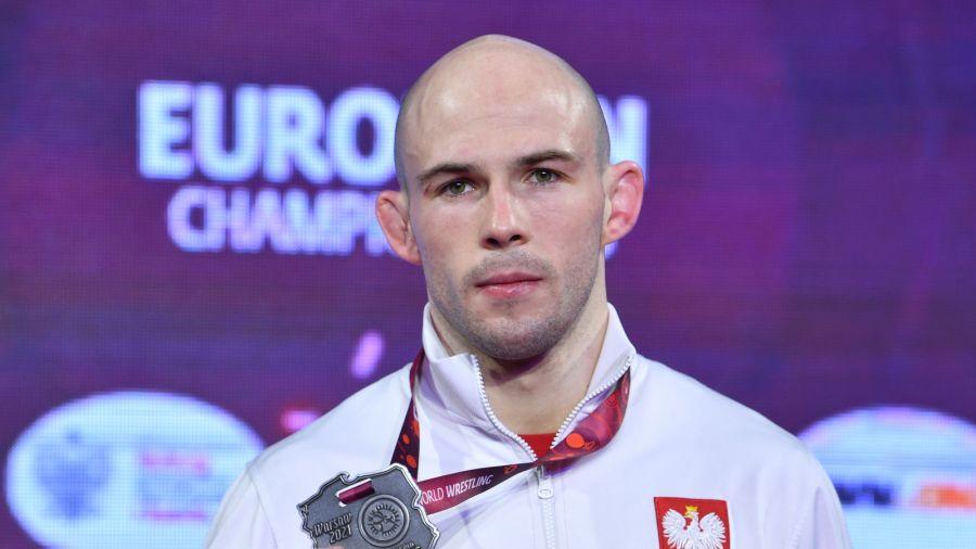 Mateusz Bernatek zdobył srebrny medal w kategorii do 67 kilogramów