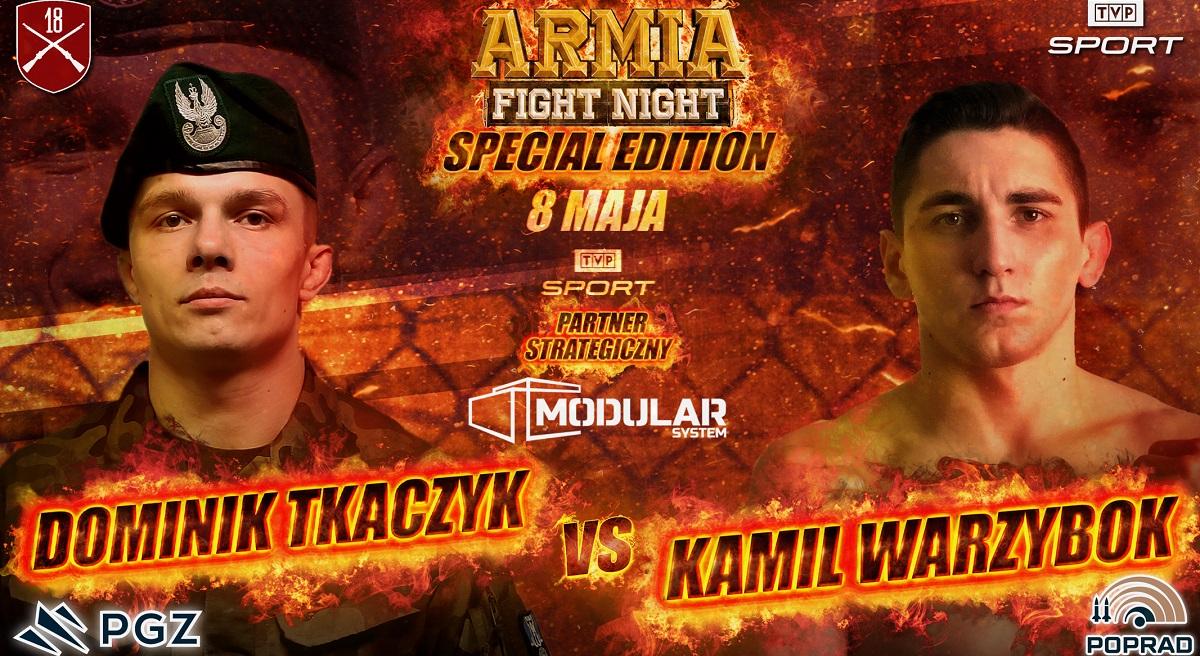 Dominik Tkaczyk (0-1) vs  Kamil Warzybok (0-1)