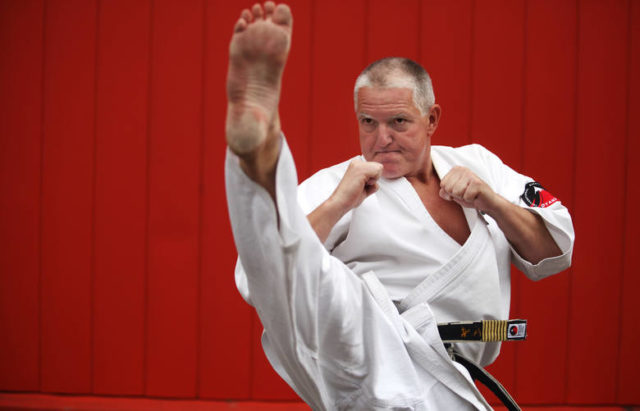 Jan Dyduch  to  legendarny  Polski karateka.