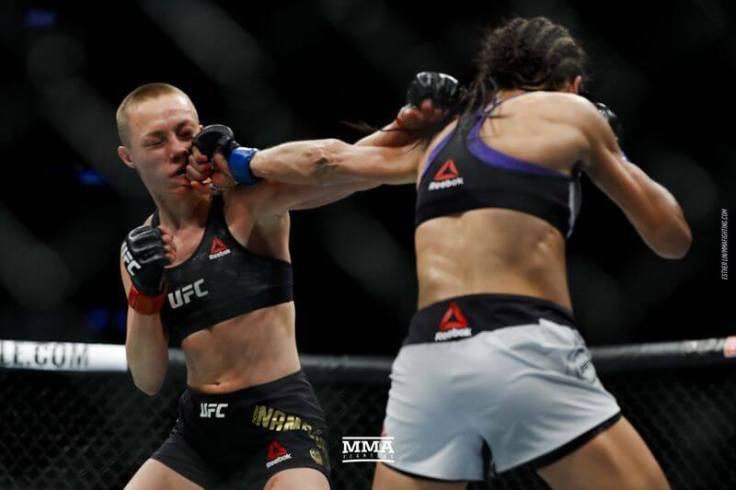 Rose Namajunas królową kategorii słomkowej w UFC!