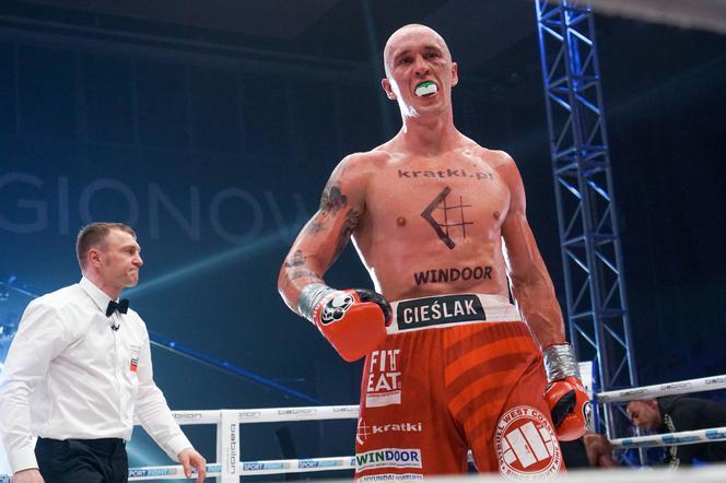 Michał Cieślak wygrywa
