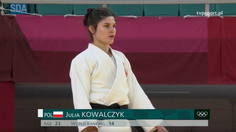 Julia Kowalczyk przegrała pojedynek repasażowy z Gruzinką Eteri LipartelianI