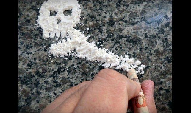 Kokaina a trening.