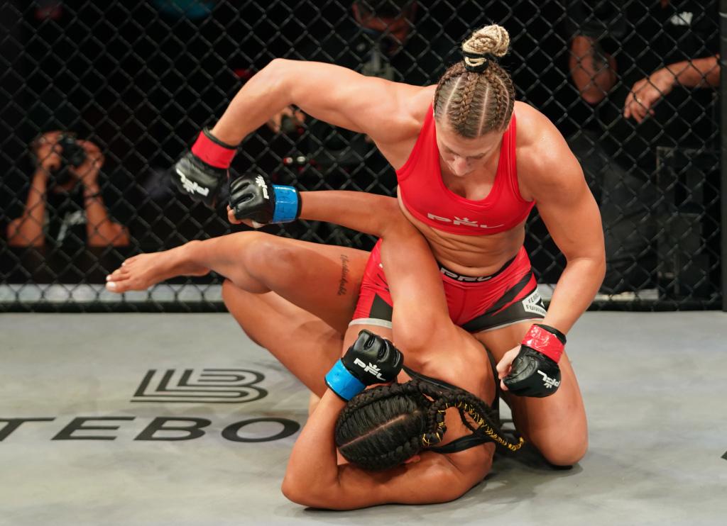 Kayla Harrison nie miała żadnych problemów z pokonaniem Genah Fabian