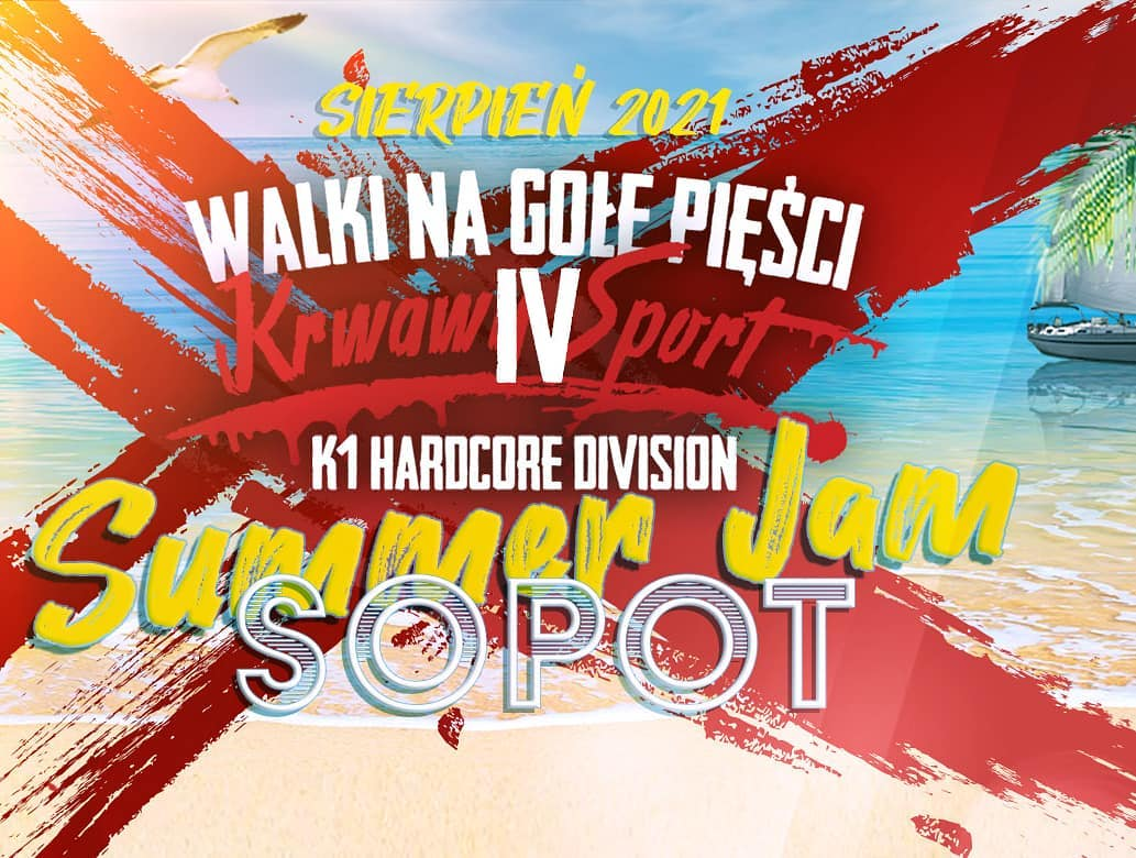 21 sierpnia w sopockiej Hali Stulecia odbędzie się czwarta gala walk na gołe pięści organizacji Krwawy Sport.