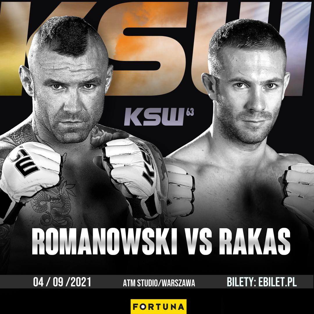Tomasz Romanowski (13-9) vs Aleksandar Rakas (13-9)