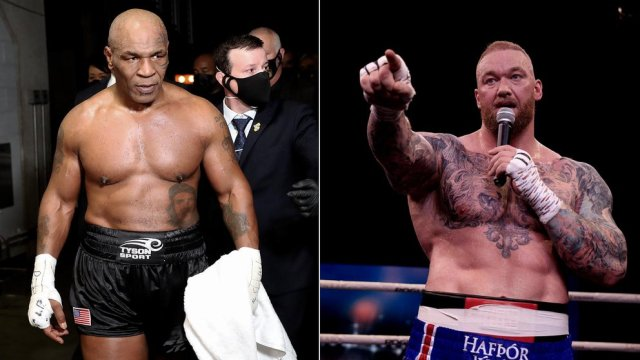 Hafthor Bjornsson VS Mike Tyson