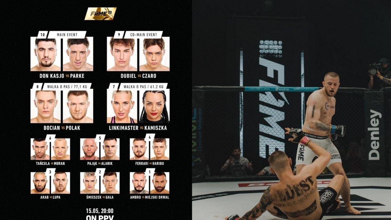 Gala Fame MMA 11 odbędzie się w sobotę 2 października w Gliwicach