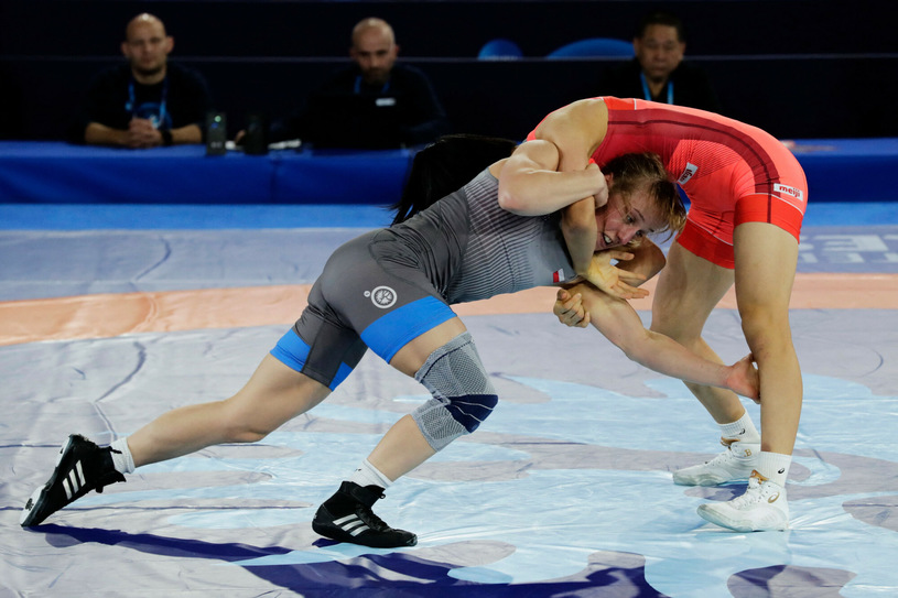 Katarzyna Krawczyk zdobyła brązowy medal mistrzostw świata Oslo 2021 w zapasach