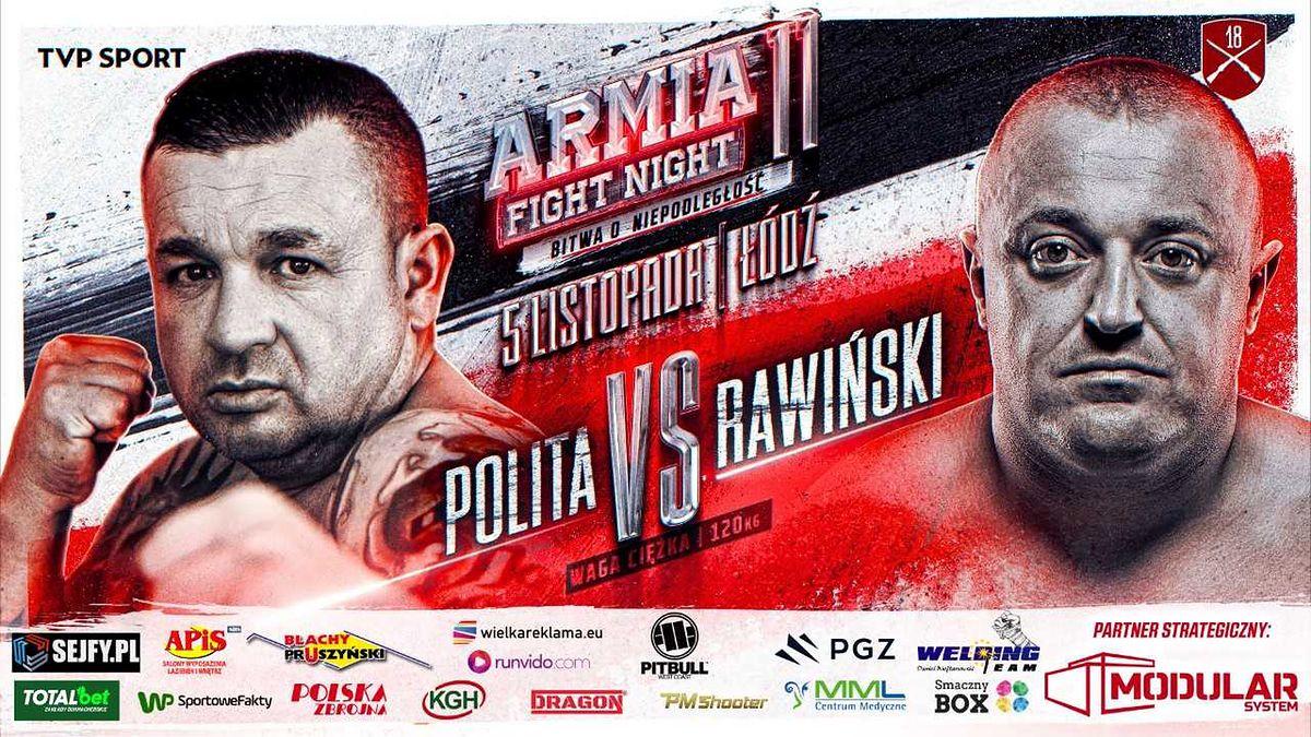 Sławomir Rawiński (3-2) przywita w formule MMA Marcina Politę (0-0)